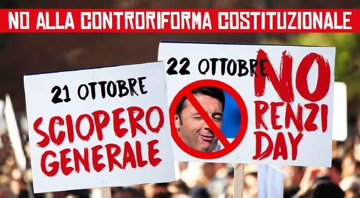 No alla controriforma costituzionale