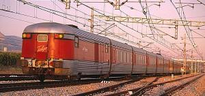 Il Talgo catalano Barcellona-Ginevra (1968-2010).  Meno caro e più veloce di un treno ad alta velocità. Fotografia: RailwayMania