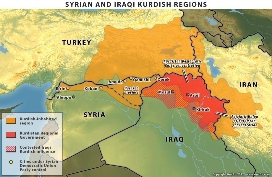 Risultati immagini per curdi  e israele