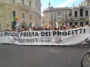 TTIP STOP corteo del 7