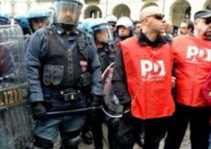Pd e poliziotti