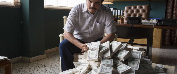 TV STILL -- DO NOT PURGE -- Wagner Moura as Pablo Escobar in the Netflix Original Series NARCOS.  Photo credit: Daniel Daza/Netflix   Season 1