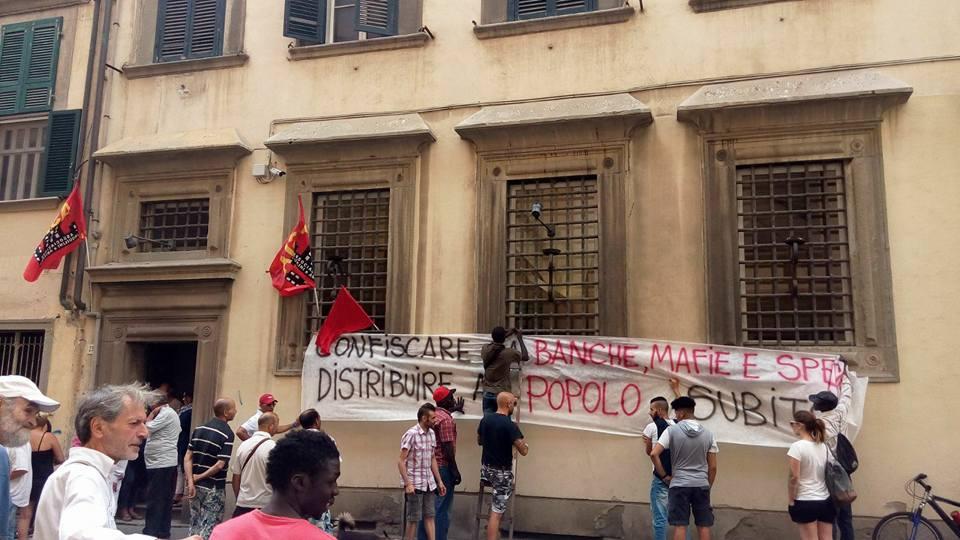 Livorno nuova occupazione di case contro l 39 emergenza for Case livorno