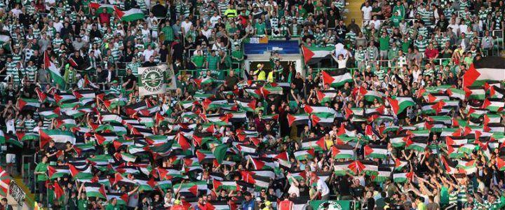 Bandiere palestinesi a Glasgow