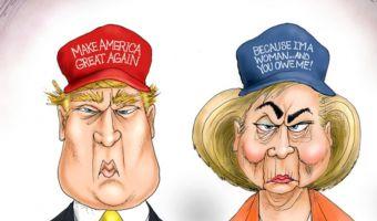 Donald-Trump-vs-Hillary-Clinton-2