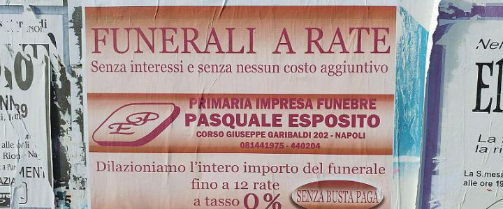 FUNERALE A RATE