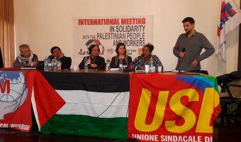 Usb con la palestina