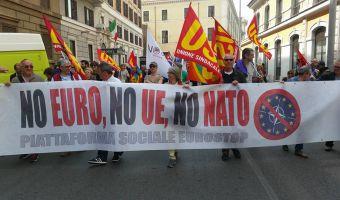 Eurostop a manifestazione contro TTIP
