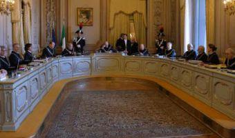 Un'udienza della Corte Costituzionale  ANSA / MAURIZIO BRAMBATTI