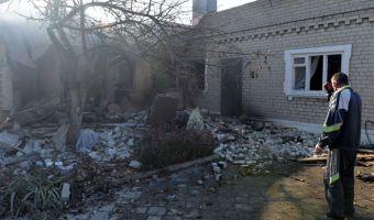 Donbass bombardato
