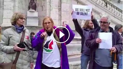 Sala Piccola Protomoteca : Roma. il comune nega la sala gli attivisti bds si prendono piazza