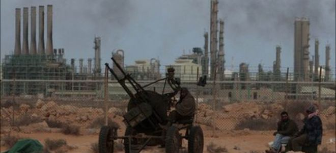 Libia raffineria