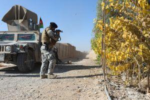 afghan control
