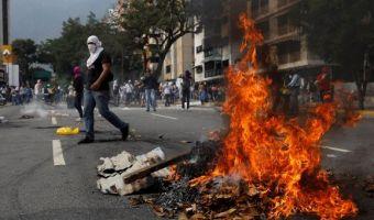 venezuela scontri