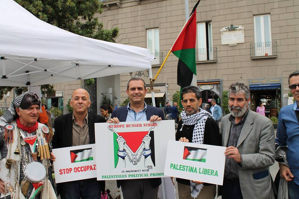 De Magistris palestina