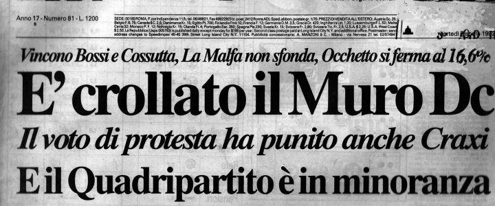 Elezioni 1987 Si Avvia Alla Fine La Repubblica Dei Partiti