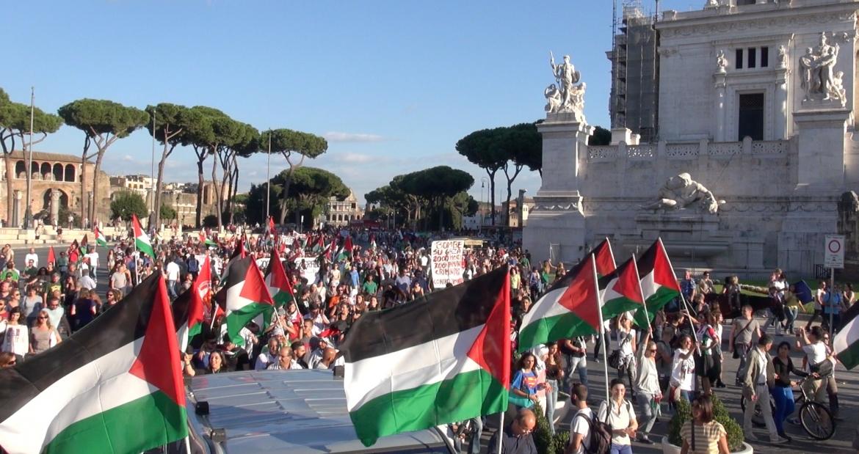 Risultati immagini per 25 aprile Palestinesi a Roma immagini