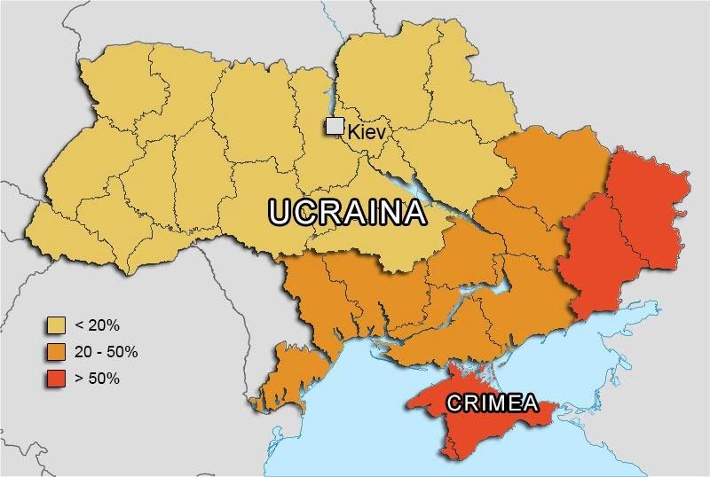 Cartina Europa Crimea.I Diritti Umani Liberal In Crimea E In Ucraina Contropiano