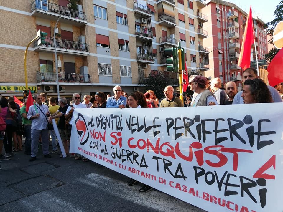 I Fronteggia RomaCasalbruciato Fascisti CasaclownQuartiere Di nmwN80