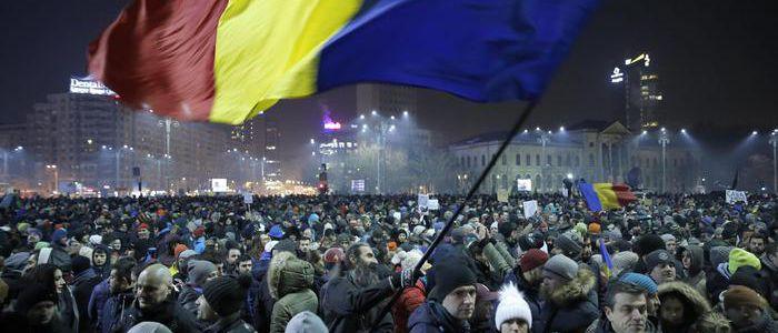 Rivoluzione colorata in Romania?